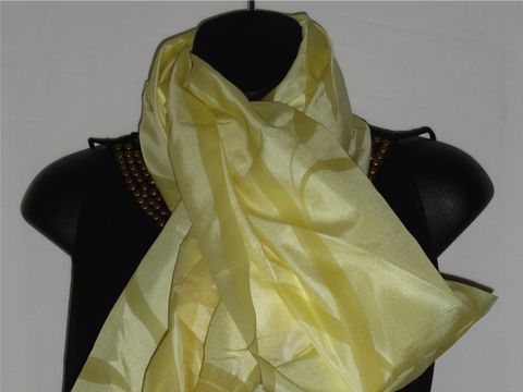 Indian Silk scarf. Yellow day scarf. Lemony lime ethnic scarf.Infinity scarf. Indian, ethnic shawl. Neon yellow scarf. From Artikrti