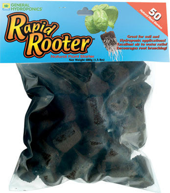 Rapid Rooter Grow Plugs, Bag of 50