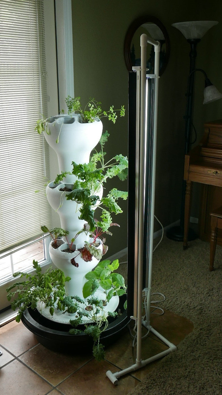 T5 Vertical Grow Lighting Foody Vertical Gardens