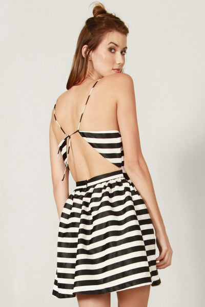 Danger Zone Halter Dress