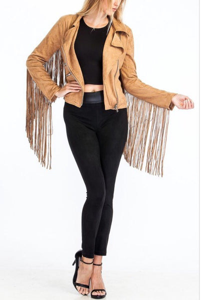 Savannah Fringe Jacket
