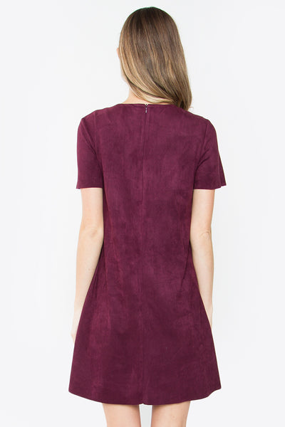 Savvy Suede Dress