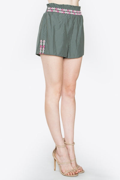 Ellis Embroidered Shorts