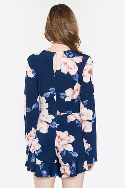 Night Bloom Romper