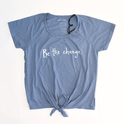 Be The Change Saskia Knotted Top
