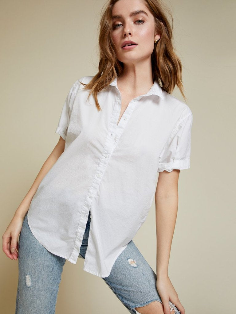 KATHERINE BUTTON UP TOP
