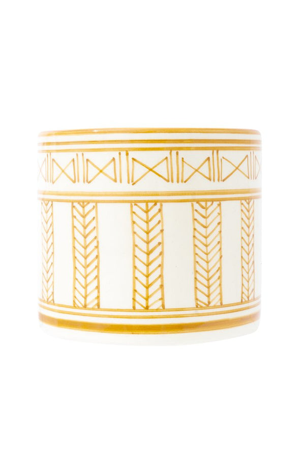 SHORT BUTLER AMBER PLANTER
