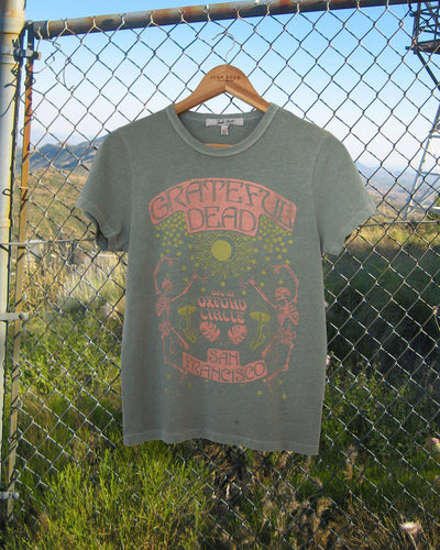 GRATEFUL DEAD SKELETON SOLSTICE TEE