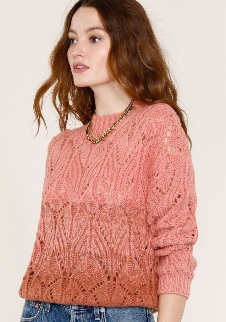 JETTE KNIT PULLOVER SWEATER