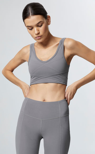 KELLAM SPORTS BRA IN LEAD