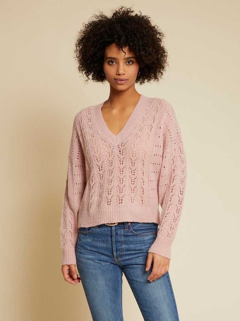 MIKA KNIT PULLOVER SWEATER