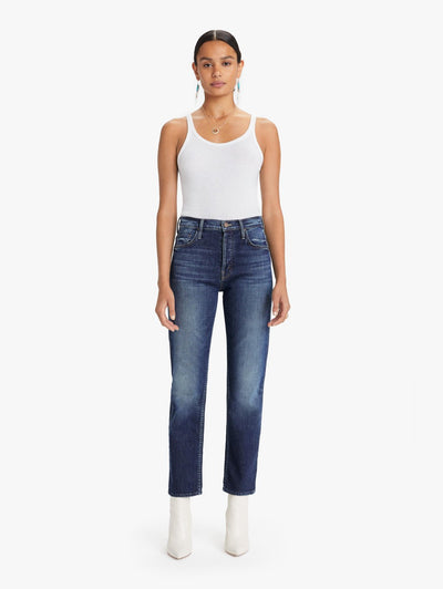 TOM CAT ANKLE HIGH RISE JEAN IN ROASTING NUTS