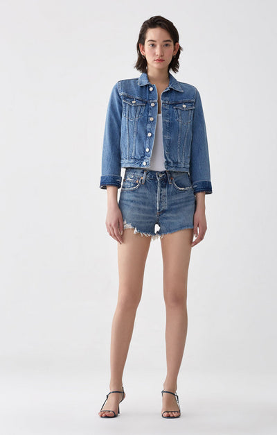 PARKER VINTAGE CUT OFF SHORTS IN ROCK STEADY
