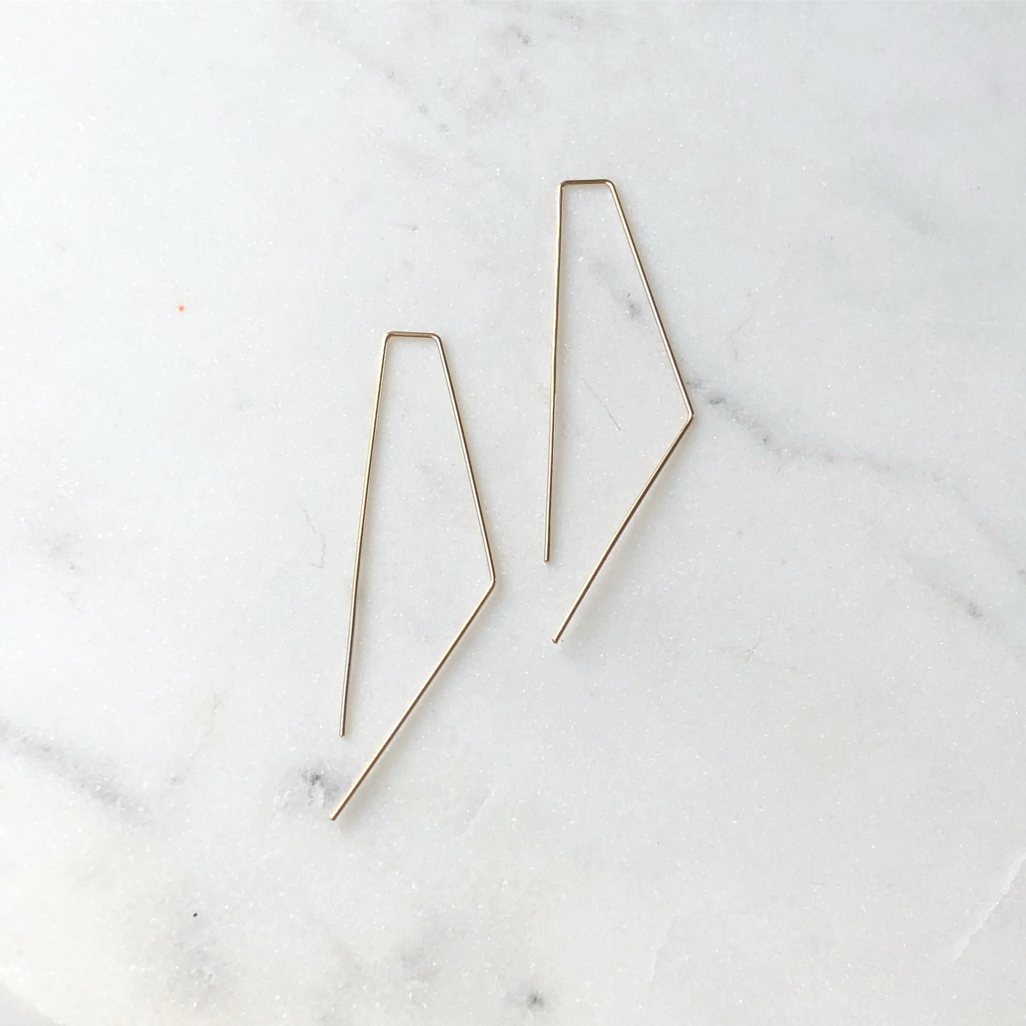 BENT SIDES EARRINGS