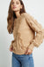 FRANCIS - HEATHER CAMEL SWEATER