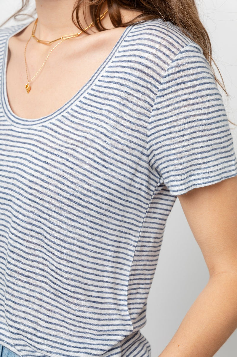 LUNA TEE IN TORONTO STRIPE
