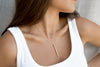 LINA GOLD BAR NECKLACE