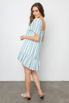 VALENTINA DRESS IN CORDOBA STRIPE