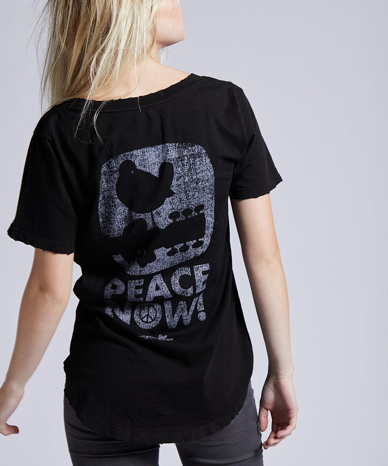 WOODSTOCK PEACE GRAPHIC TEE