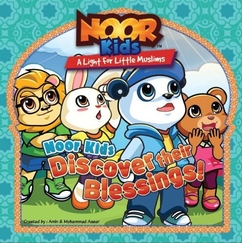 Noor Kids Discover Their Blessings , Book - Daybreak International Bookstore, Daybreak Press Global Bookshop