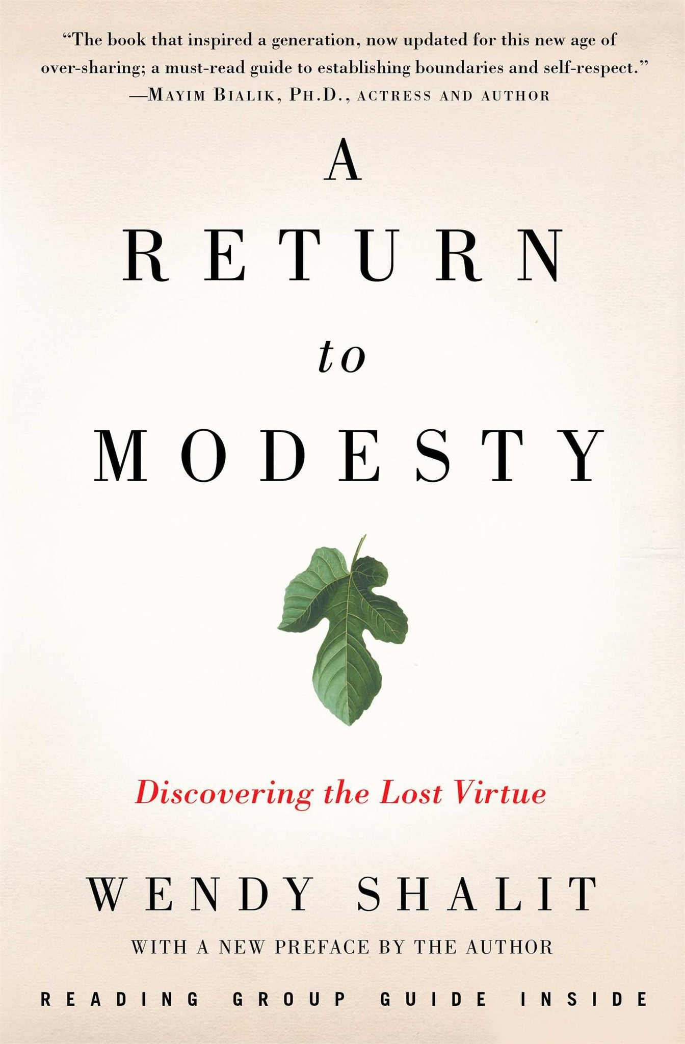 A Return to Modesty , Book - Daybreak International Bookstore, Daybreak Press Global Bookshop