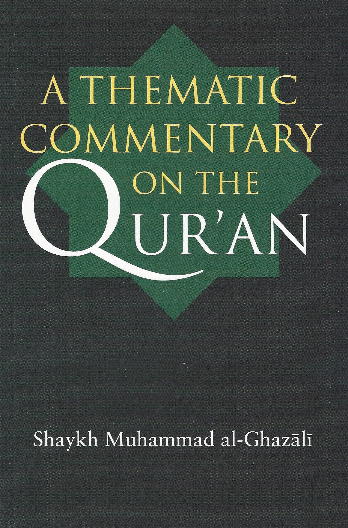 A Thematic Commentary on the Qur'an , Islamic Adult - Daybreak Press Global Bookshop, Daybreak Press Global Bookshop