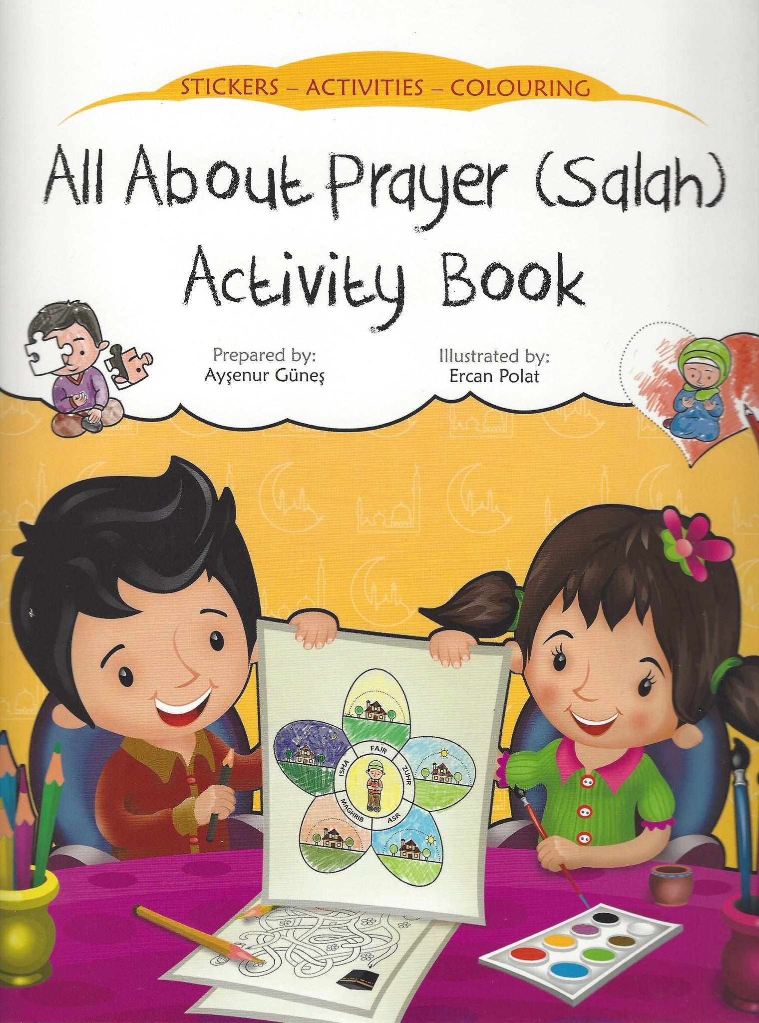 All About Prayer (Salah) Activity Book , Activity Book - Daybreak Press Global Bookshop, Daybreak Press Global Bookshop