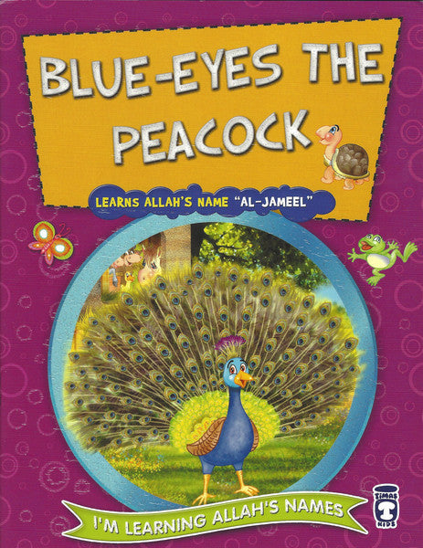 I'm Learning Allah's Names: Set 2 Blue-Eyes the Peacock, Book - Daybreak International Bookstore, Daybreak Press Global Bookshop  - 9