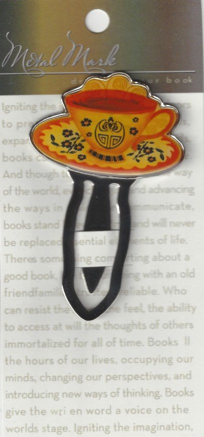 Bookmark Clips Teacup, Merchandise - Daybreak International Bookstore, Daybreak Press Global Bookshop  - 1
