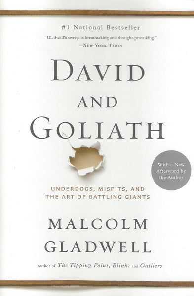 David and Goliath: Underdogs, Misfits, and the Art of Battling Giants , Book - Daybreak Press Global Bookshop, Daybreak Press Global Bookshop