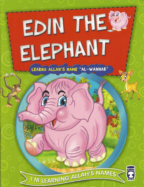 I'm Learning Allah's Names: Set 2 Edin the Elephant, Book - Daybreak International Bookstore, Daybreak Press Global Bookshop  - 1