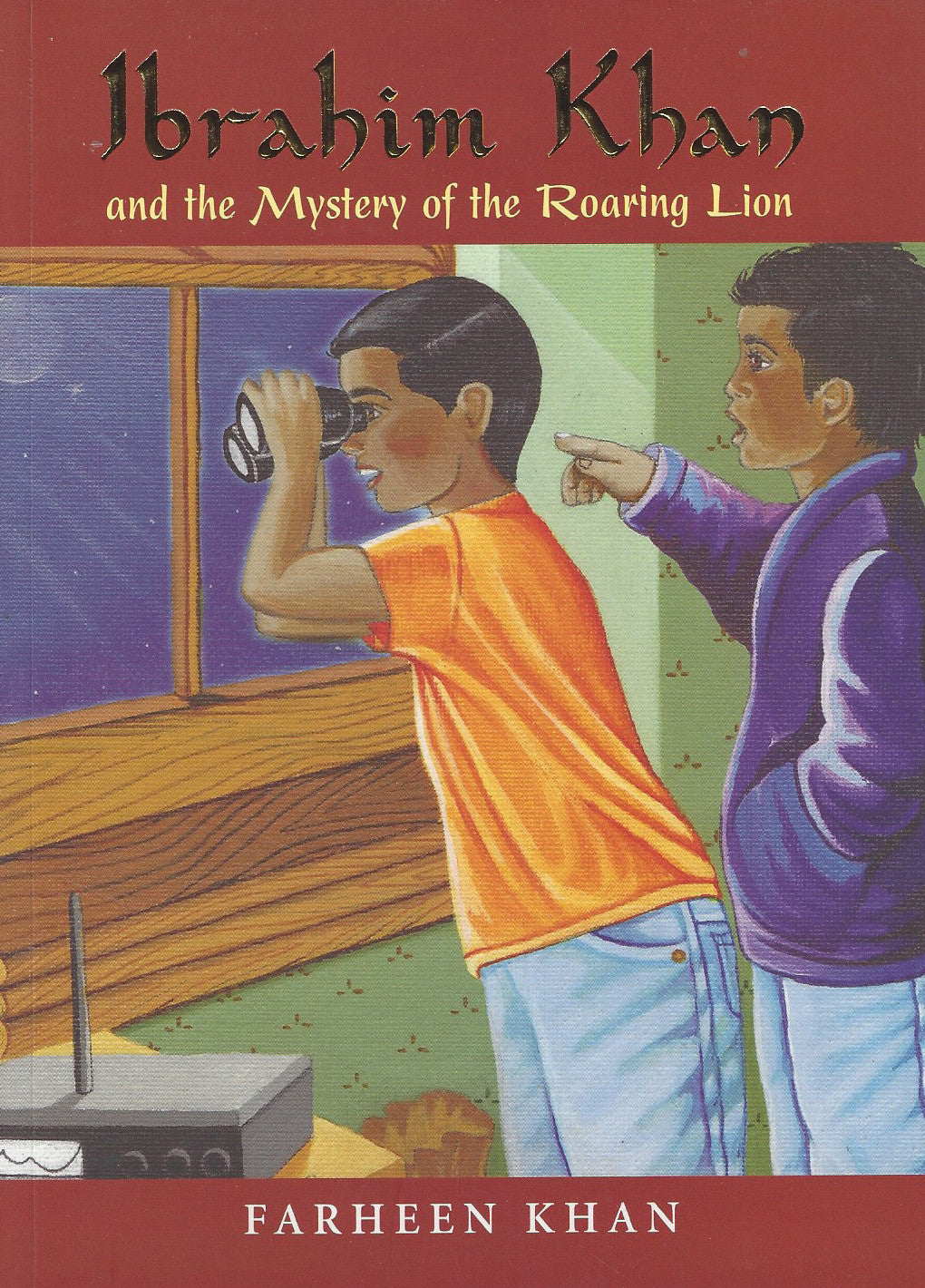 Ibrahim Khan and the Mystery of the Roaring Lion , Book - Daybreak International Bookstore, Daybreak Press Global Bookshop