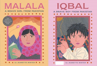 Iqbal: A Brave Boy from Pakistan and Malala: A Brave Girl from Pakistan , Children's Book - Daybreak Press Global Bookshop, Daybreak Press Global Bookshop