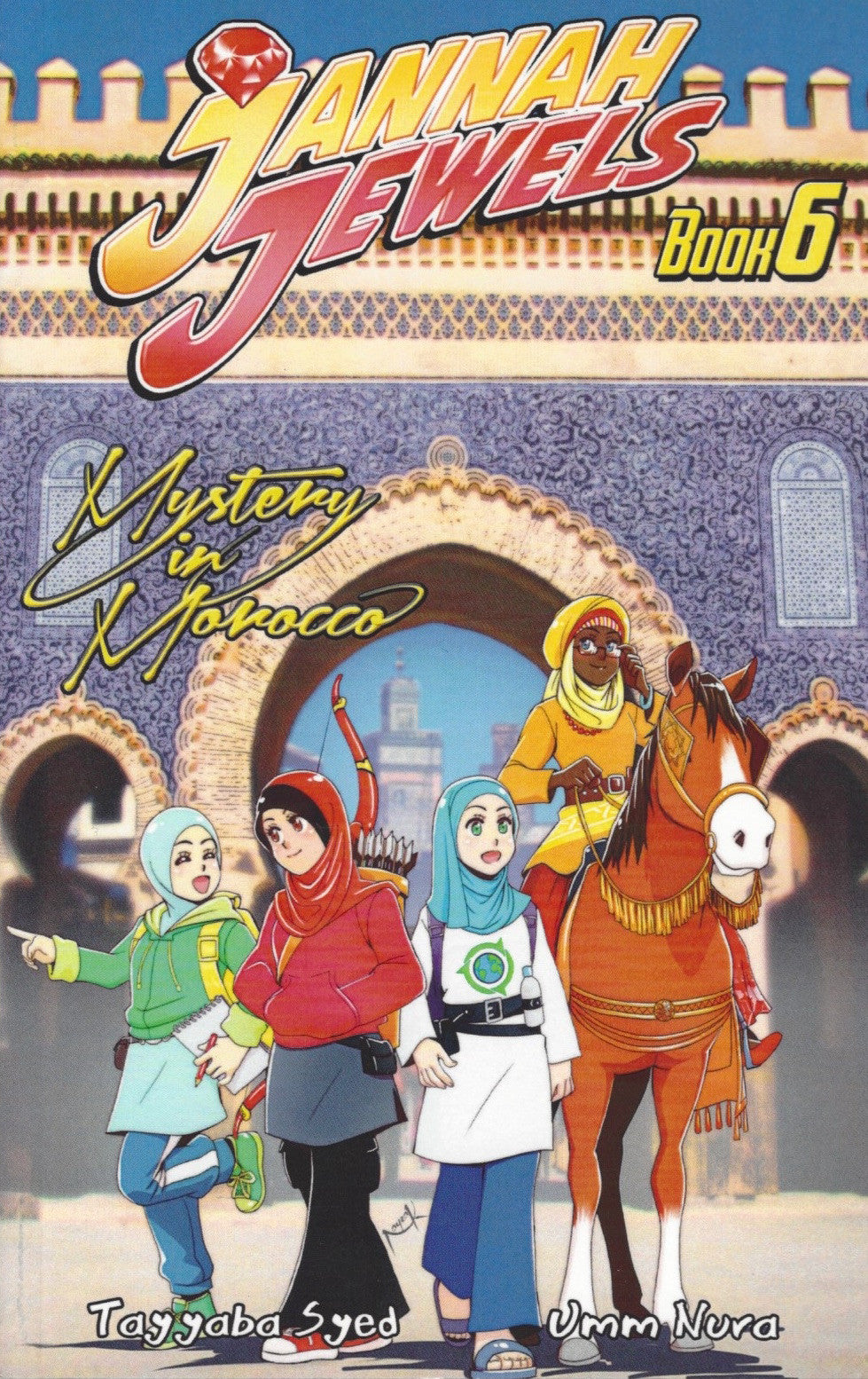Jannah Jewels Book 6: Mystery In Morocco , Book - Daybreak Press Global Bookshop, Daybreak Press Global Bookshop