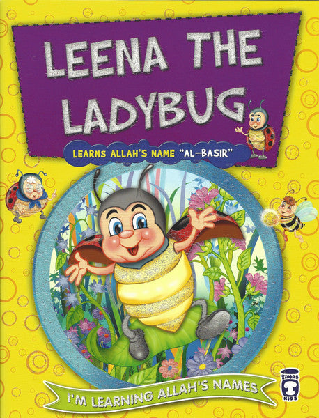 I'm Learning Allah's Names: Set 2 Leena the Ladybug, Book - Daybreak International Bookstore, Daybreak Press Global Bookshop  - 4