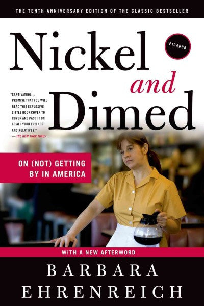 Nickel and Dimed: On (Not) Getting by in America , Book - Daybreak Press Global Bookshop, Daybreak Press Global Bookshop