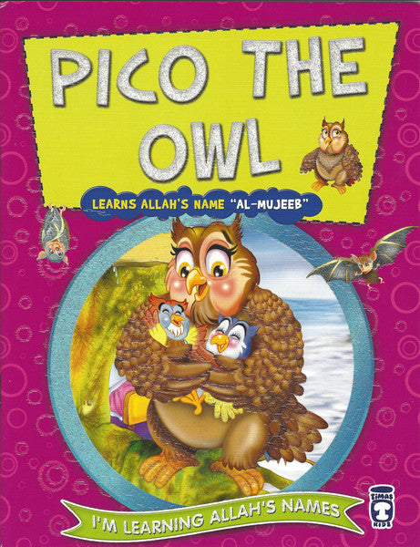 I'm Learning Allah's Names: Set 2 Pico the Owl, Book - Daybreak International Bookstore, Daybreak Press Global Bookshop  - 7