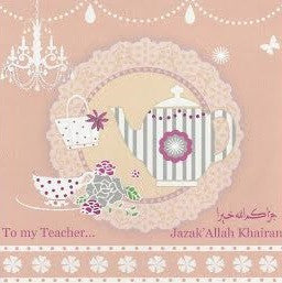 Teacher Default Title, Islamic Cards - Daybreak International Bookstore, Daybreak Press Global Bookshop