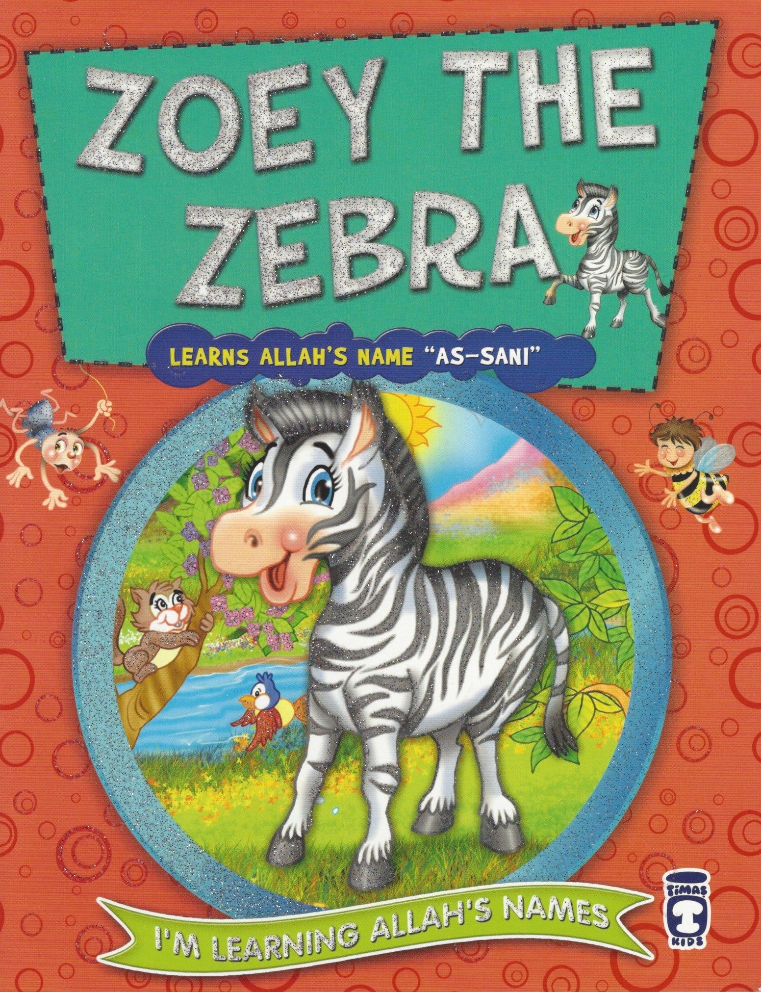 I'm Learning Allah's Names: Set 2 Zoey the Zebra, Book - Daybreak International Bookstore, Daybreak Press Global Bookshop  - 10