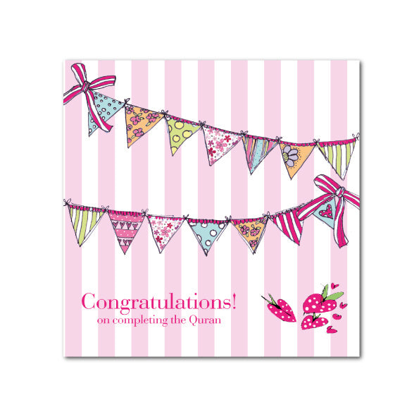 Congratulations! Completing Quran Card
