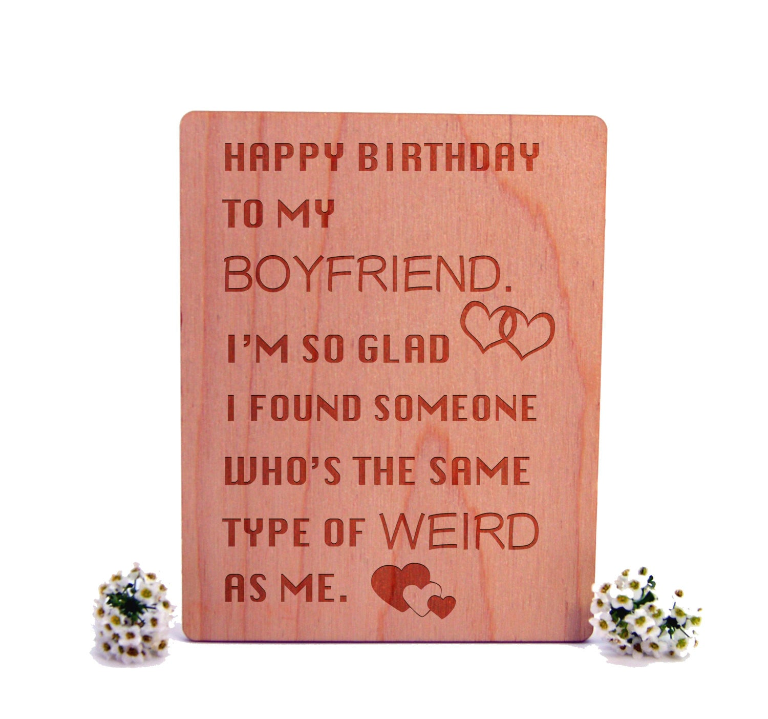 To boyfriend wooden greeting card unique quote card classic card to boyfriend wooden greeting card unique quote card classic card love quote kristyandbryce Images