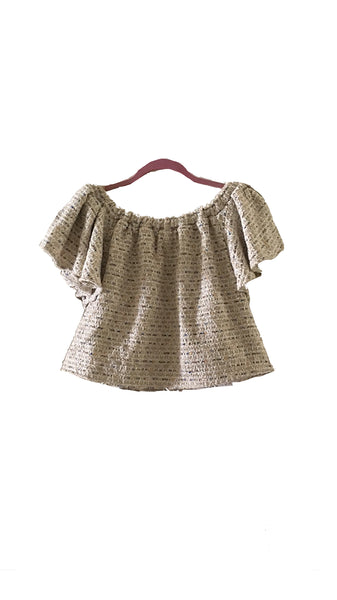 Crush Tweed Top Style 7  CRB07