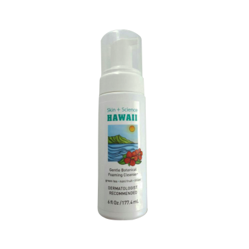 Skin+Science Hawaii Botanical Foaming Gentle Cleanser SS001