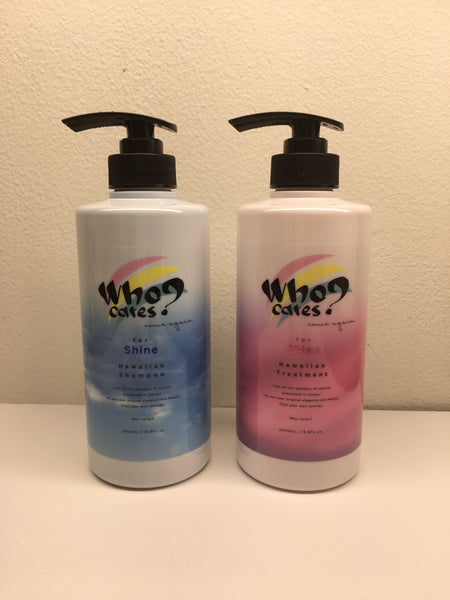 Who Cares?  Shampoo and Treatment