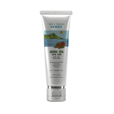 Skin+Science Hawaii Green Tea Face Zinc SPF 50+ SS002