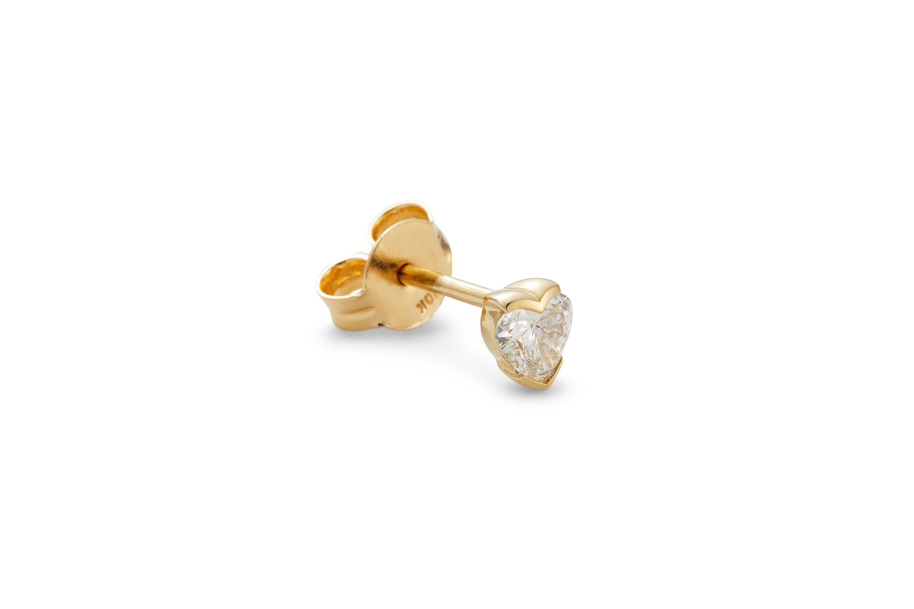 Connection Mini Diamond Stud Earring