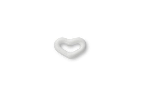 Mini Agate Enamel Heart Ear Stud