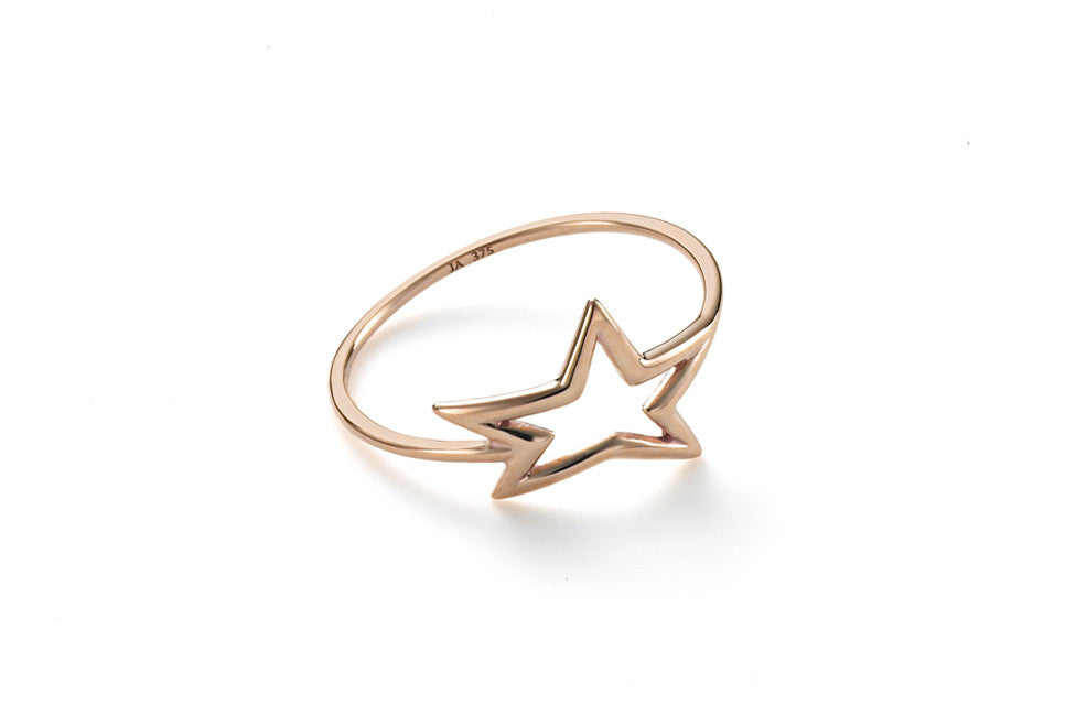 Single Delicate Star Ring