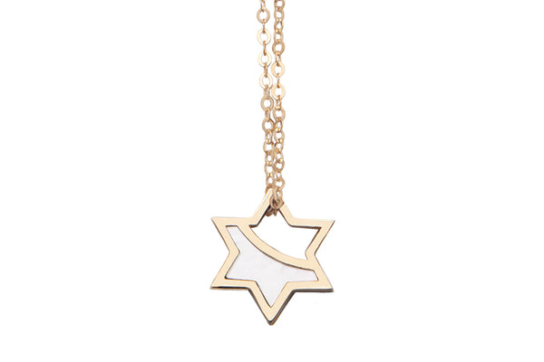 Spirit Star Mother of Pearl Pendant