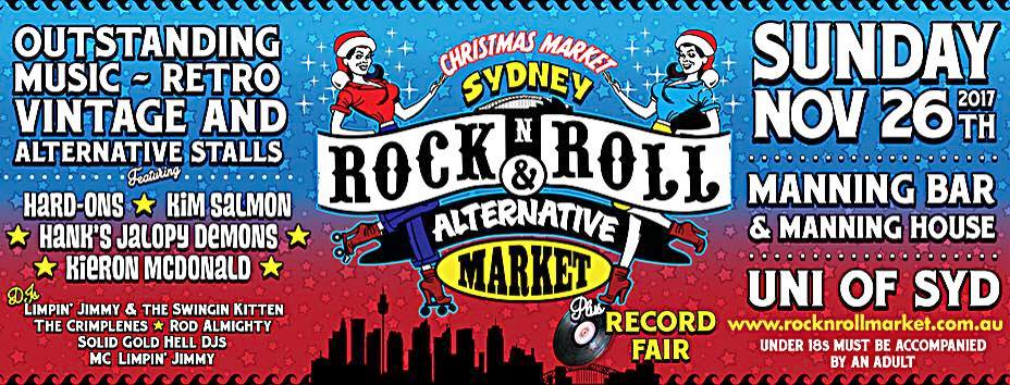 Join us at the Rock n Roll Christmas Market!